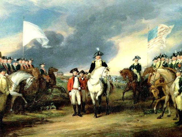 Battle of Yorktown John Trumbull