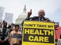 Bernie Sanders health care rally (Alex Wong / Getty)