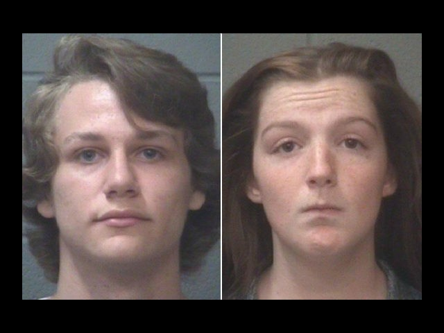 Brian Joshua Anderson and Brittney Renee Luckenbaugh, both 16, are accused of catfishing their French teacher and sharing nude photos of him.