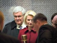 Callista and Newt Gingrich Getty