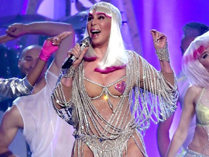 71-Year-Old Cher Dons See-Through Top and Nipple Pasties at Billboard Awards