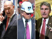 Cohn, Trump, Manchin