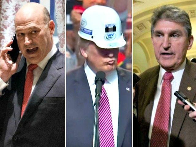Exclusive — Sen. Joe Manchin: We Need to 'Educate' Gary Cohn 'A Little Bit Better' on Crucial Role of Coal