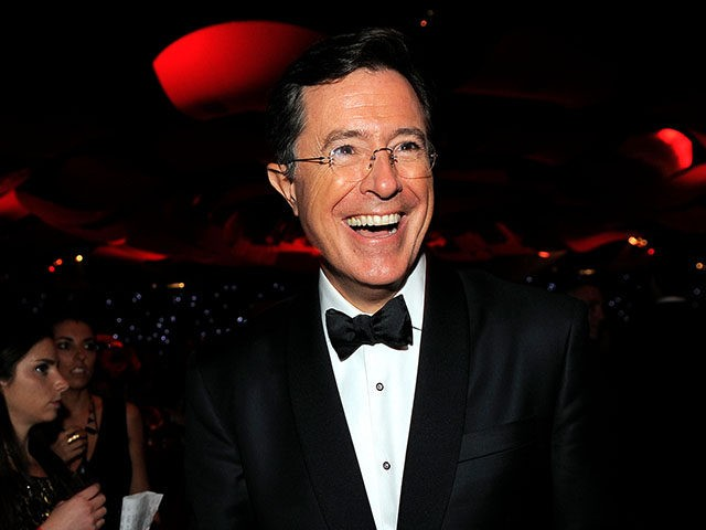 Watch Stephen Colbert host a 'Daily Show' reunion on his 'Late Show'