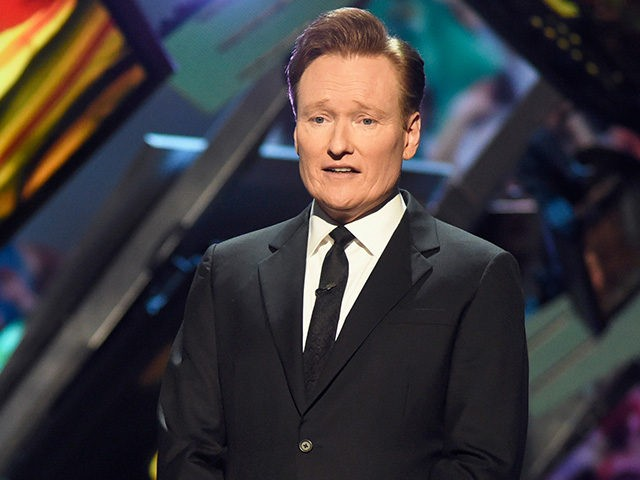 SAN FRANCISCO, CA - FEBRUARY 06: Host Conan O'Brien speaks onstage during the 5th Annual NFL Honors at Bill Graham Civic Auditorium on February 6, 2016 in San Francisco, California. (Photo by Tim Mosenfelder/Getty Images)