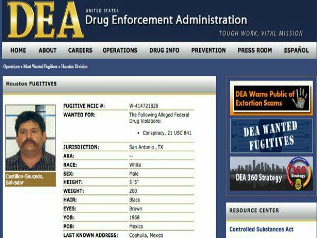 Mexican Authorities Arrest One of DEA's Most Wanted -- Judge