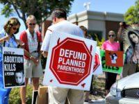 Defund Planned Parethood Mike Blake, Reuters