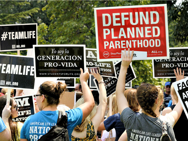 Defund planned parenthood AP