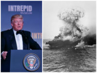 Donald-Trump-Intrepid-Battle-of-the-Coral-Sea-AP