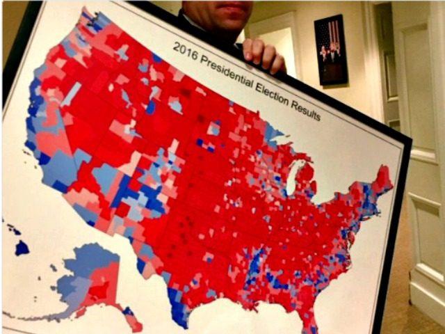 Report: Donald Trump to Hang Portrait of Electoral College Landslide ...