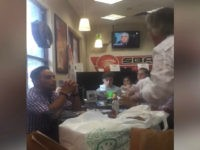 VIDEO: Venezuelan Exiles Kick Former Chavez Banking Minister out of Miami Area Bakery