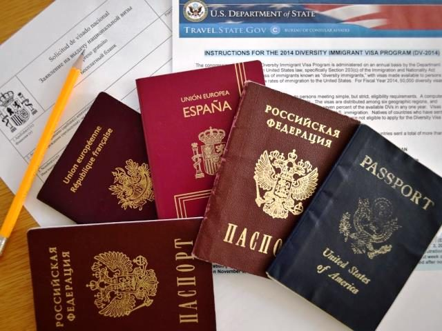 Foreign visas