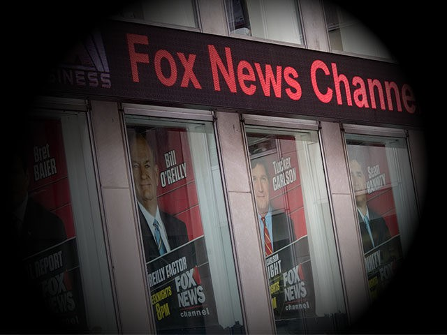 Posters featuring Fox News talent including one of Bill O'Reilly, second from right, are displayed on the News Corp. headquarters building in Midtown Manhattan, Wednesday, April 19, 2017. Bill O'Reilly has lost his job at Fox News Channel following reports that five women had been paid millions of dollars to …