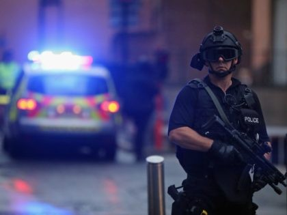 MANCHESTER attack / British UK Armed Terror police