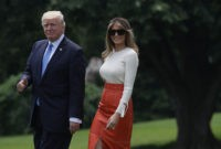 POTUS Tweeted Less Abroad Because of Melania's Presence: Report