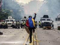 PHOTOS: From Caracas to Miami, Over 200,000 Venezuelans Mark Day 50 of Protests