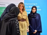 CNN Op-Ed: Saudis Loved Melania Trump Because She Represents Submission to Men