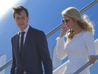 Ivanka Trump, daughter of US President Donald Trump, her husband Jared Kushner, senior adviser to Trump step off Air Force One upon arrival at Rome's Fiumicino Airport on May 23, 2017. Donald Trump arrived in Rome for a high-profile meeting with Pope Francis in what was his first official trip …