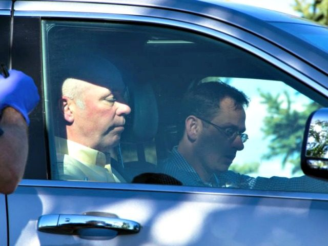 Gianforte Leaving Body Slam Freddy MonaresBozeman Daily Chronicle via AP