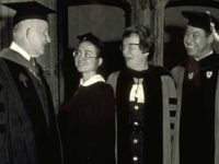 Hillary Clinton 1969 Wellesley Commencement