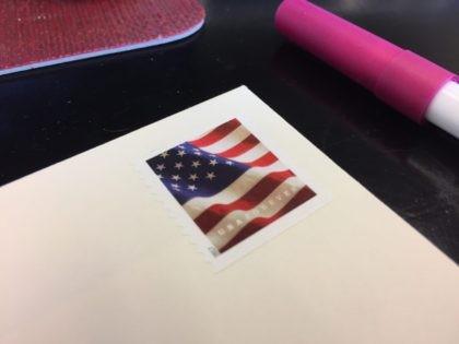 Postage stamp (Joel Pollak / Breitbart News)