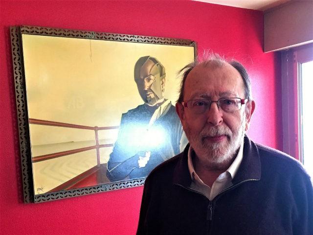 """French """"new right"""" philosopher Alain De Benoist"""