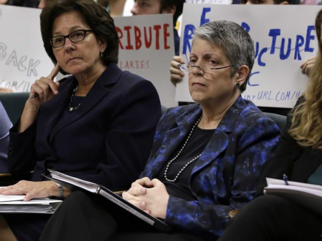 Janet Napolitano audit (Rich Pedroncelli / Associated Press)