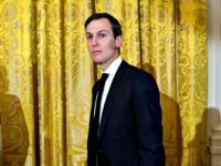 Jared Kushner gold curtain Andrew HarrerGetty