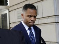 FILE - In this Aug. 14, 2013, file photo, former Illinois Rep. Jesse Jackson Jr., leaves federal court in Washington after being sentenced to 2 1/2 years in prison for misusing $750,000 in campaign funds. Jackson Jr. will be released from a federal prison on Thursday, March 26, 2015, and …