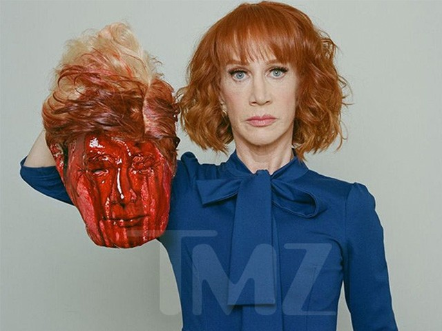 Kathy Griffin Apologizes For Graphic Photo of Her Holding Trump Severed Head