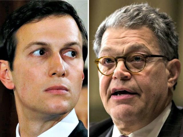 Kushner (Reuters)Franken (Drew Angerer:Getty)