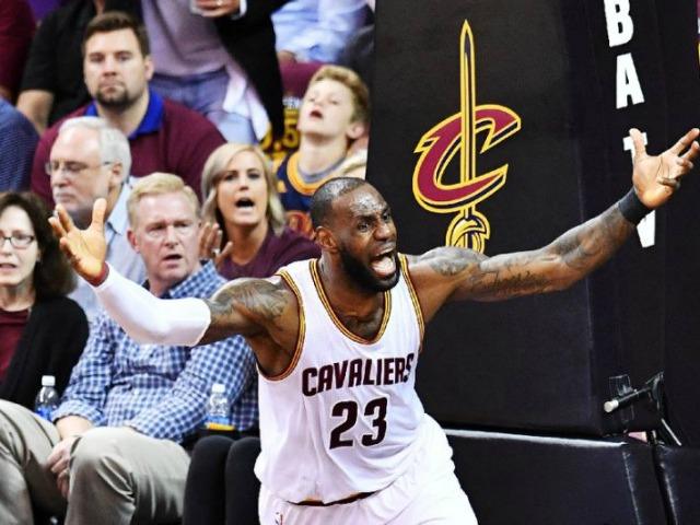 Cleveland Cavaliers' LeBron James is poised to appear in his seventh consecutive NBA Finals