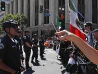 Los Angeles May Day protest (Jae C. Hong / Associated Press)