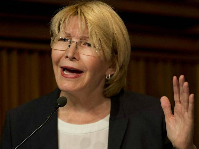 Venezuela's General Prosecutor Luisa Ortega Diaz speaks during a news conference at her office in Caracas, Venezuela, Tuesday, April 25, 2017. Four more people have died in protests against Venezuela's President Nicolas Maduro, the government said Monday, bringing the total death toll in recent protests and unrest in the country …