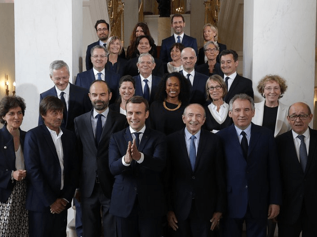 Emmanuel Macron holds first Cabinet meeting