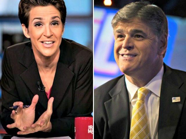 Maddow MSNBC Hannity Fox