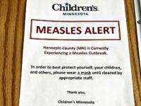 Measles Alert Notice Amy ForlitiAP