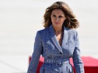 PHOTOS: First Lady Melania Trump Radiates In High Fashion During Trip Abroad