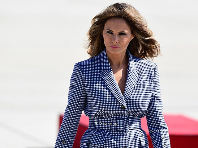 Melania Trump Wears a $51500 Coat During Sicily Visit
