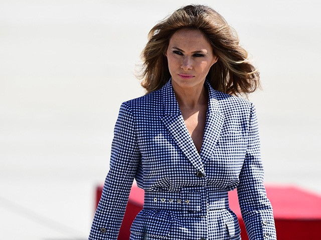 Photos First Lady Melania Trump Radiates In High Fashion