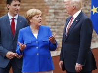 Merkel Implies Trump Offers 'Simple Answers' After Meeting U.S. President