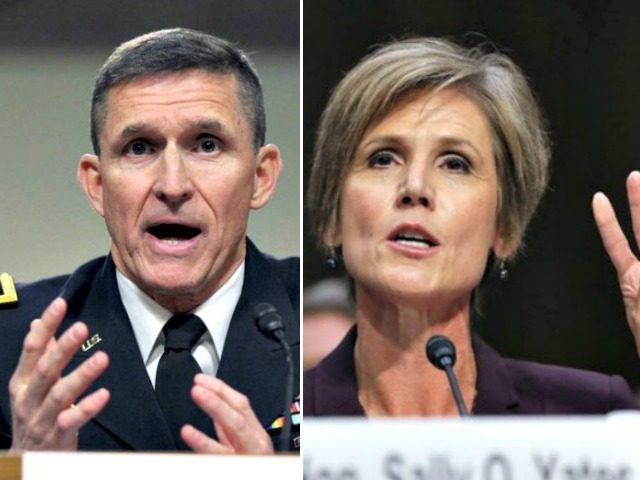 Former AG Yates tells Senate she warned of Flynn vulnerability