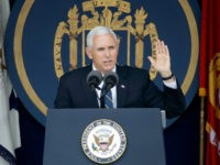 VP Mike Pence Tells U.S. Naval Academy Grads the 'Best Way to Ensure Peace'