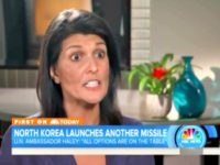 Nikki Haley Warns North Korea: 'Don't Give Us a Reason' to Fight