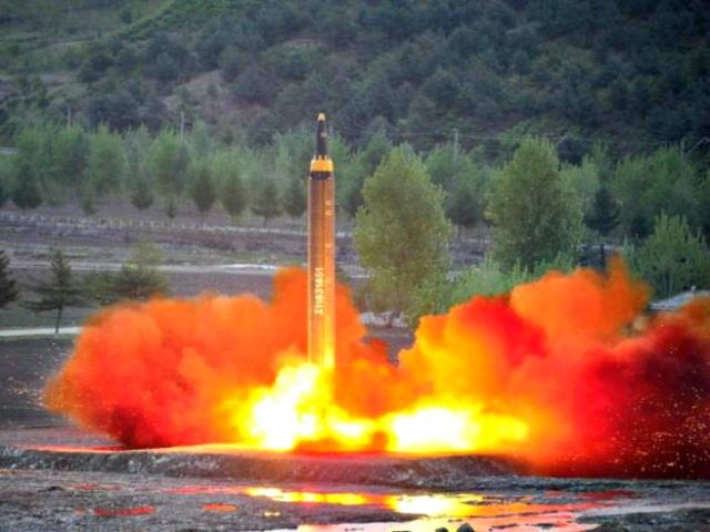 No. Korean Ballistic Rocket Reuters