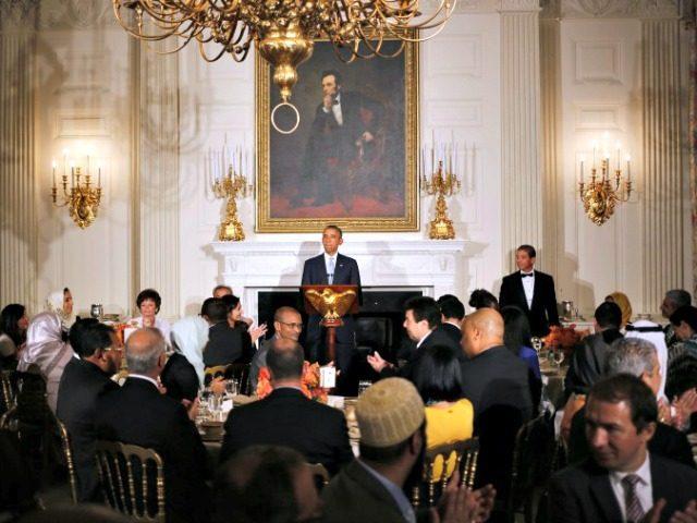 Obama Ramadan Charles DharapakAP