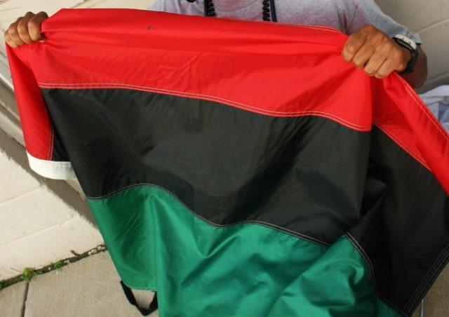 Pan African Flag (erik aldrich / Flickr / CC / Cropped)