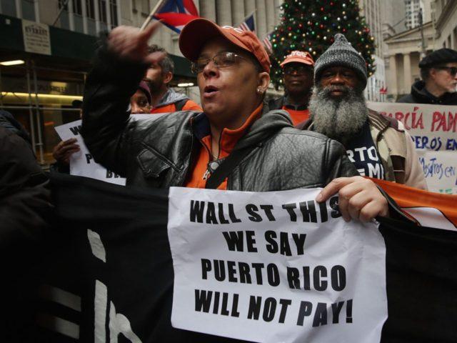 Puerto Rico protest (Spencer Platt / Getty)