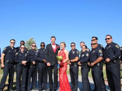 Riverside PD prom (Facebook)