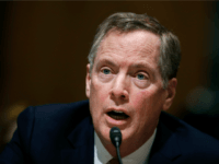 In this March 14, 2017, file photo, U.S. Trade Representative-designate Robert Lighthizer testifies on Capitol Hill in Washington. Lighthizer has easily cleared a hurdle in the Senate. The Senate has voted 81-15 to advance the nomination of Lighthizer. A final confirmation vote could occur later Thursday, May 11, 2017. (AP …